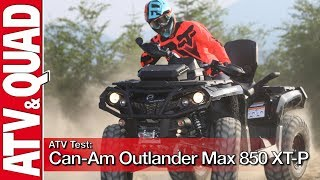 5. ATV Test: Can-Am Outlander Max 850 XT-P