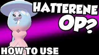 HATTERENE HAS MAGIC BOUNCE! How To Use Hatterene - Pokemon Sword and Shield Hatterene Moveset by Verlisify