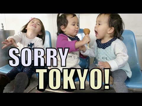 We're Sorry Tokyo! - November 22, 2015 -  ItsJudysLife Vlogs