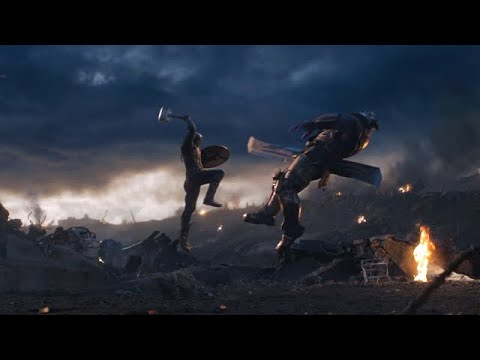 Captain America vs Thanos (Part 1) | Avengers: Endgame [Open Matte/IMAX HD]