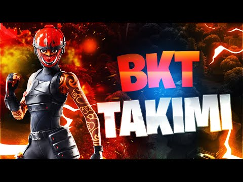 FORTNİTE BKT TAKIMI İLE BATTLE ROYALE