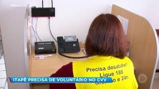 Unidade do CVV de Itapetininga precisa de voluntários