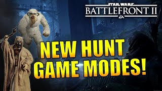 Hunt Game Modes We Could See In Battlefront 2 - (Wampa Hunt, New Hunt Modes) Star Wars Battlefront 2