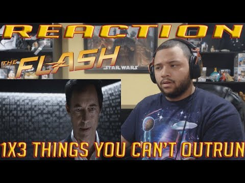 "The Flash 1x3 ""Things You Can't Outrun"" REACTION!!"