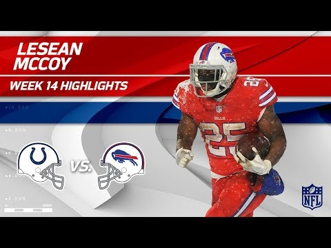 Video: LeSean McCoy Dashes Through the Snow w/ 158 Yards & 1 TD | Colts vs. Bills | Wk 14 Player HLs