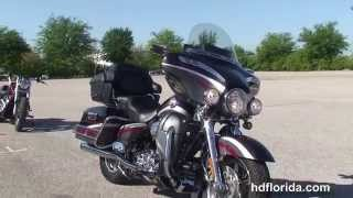 7. Used 2006 Harley Davidson CVO Ultra Classic Electra Glide Motorcycles for sale - Lakeland, FL