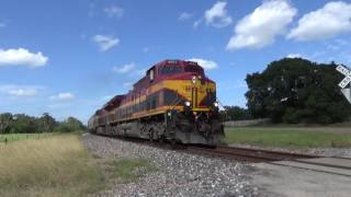 Flatonia (TX) United States  city pictures gallery : The 80 Mile Chase - KCS 4597 with an awesome crew from Flatonia to Nursery Texas