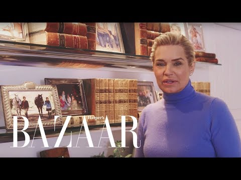 Yolanda Hadid Talks Motherhood and Raising Gigi, Bella & Anwar | Harper's BAZAAR