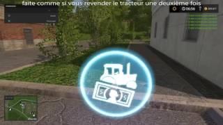 Argent illimité (farming simulator 2017)!!!