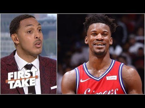 Video: By losing Jimmy Butler, the 76ers took a step back in the East – Ryan Hollins | First Take