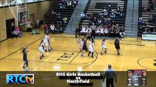 RHS Girls Basketball vs Northfield