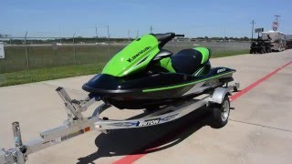 5. SALE $7,899:  2016 Kawasaki  STX15F Jet Ski Overview and Review