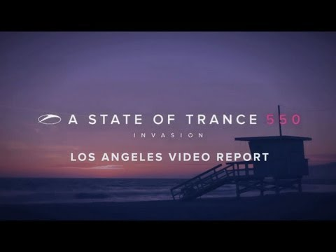 ASOT550 Los Angeles video report