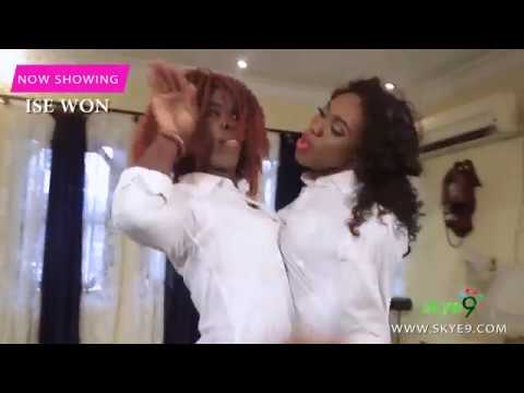 WATCH LATEEF AND IJEBU ACT LIKE A WOMAN IN A MOVIE ROLE 'ISE WON'