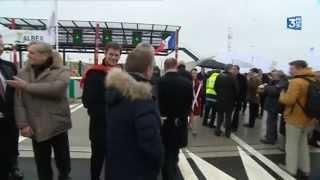 Barentin France  city photos : Inauguration du tronçon A150 entre Barentin et Ecalles-Allix (Seine_Maritime)