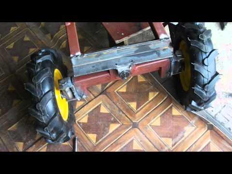 Рулевая для минитрактора своими руками