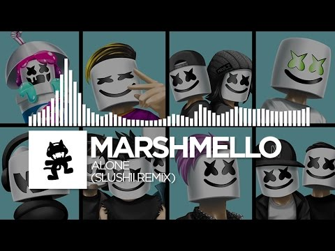 Video Marshmello - Alone (Slushii Remix) [Monstercat EP Release] download in MP3, 3GP, MP4, WEBM, AVI, FLV February 2017