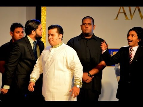 Sri Laka - A comedy act performed by Chaminda Pusswedilla at Dialog Sri Lanka Cricket Awards ceremony held at Waters Edge hotel on 10th of September 2013. The act was s...