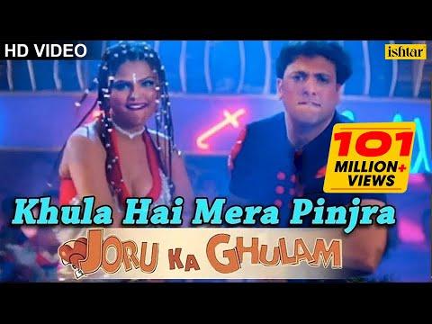 Video Khula Hai Mera Pinjra Full Song | Joru Ka Gulam | Govinda & Rakhi Sawant | Kumar Sanu, Alka Yagnik download in MP3, 3GP, MP4, WEBM, AVI, FLV January 2017