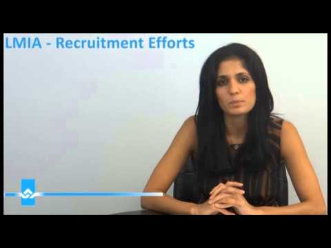 LMIA Recruitment Efforts Video