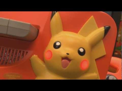 Classic Game Room - PIKACHU NINTENDO 64 console review