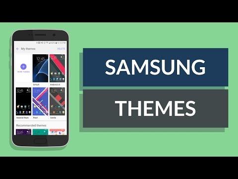 Samsung Theme Store - My Favorite Themes (Galaxy S7 Edge)