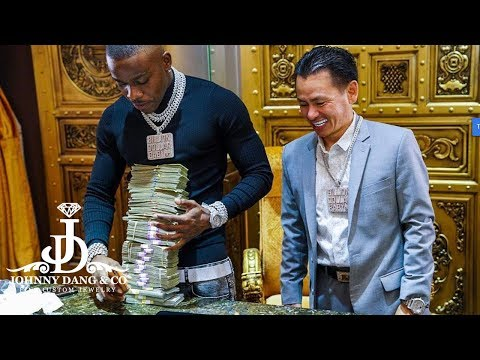 Dababy & Stunna 4 Vegas Customize Billion Dollar Baby ENT Chain