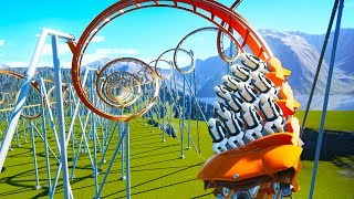 Building A Roller Coaster That Turns Your Brain To Jello in Planet Coaster