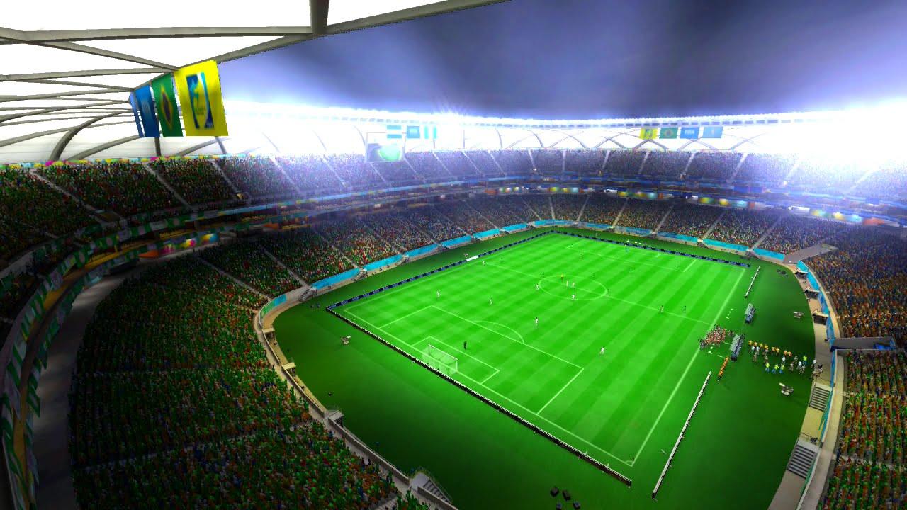 Honduras vs Nigeria Pretend Olympics Bronze Medal Round Match Using 2014 FIFA World Cup Brazil