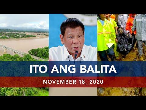 UNTV: Ito Ang Balita | November 18, 2020
