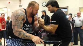 Devon Larratt vs. Game of Thrones The Mountain