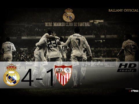 Real Madrid vs Sevilla 4-1 | All Goals | HD 1080p