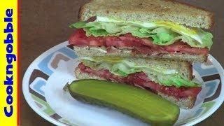 Bacon Lettuce & Tomato Sandwich