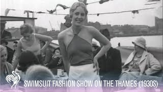 1930s Fashion Show on the Thames!