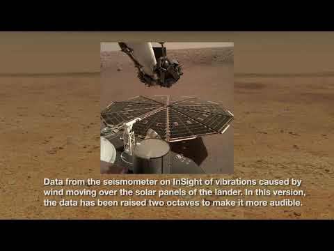 And Now The Sound Of The Martian Winds . . .