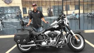 1. 2010 Harley-Davidson Softail Fat Boy Lo