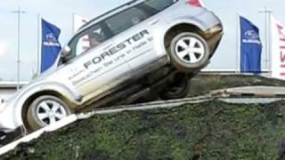Testdrive - Testfahrt - Subaru Forester Kippt Fast Um - Almost Roll Over - AMI Leipzig 2009