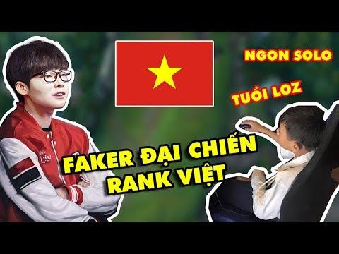 FAKER lần đầu tiên trải nghiệm LMHT rank Việt, cả server náo loạn vì Quỷ Vương Bất Tử - Thời lượng: 17:31.