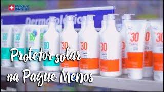Protetor solar na Pague Menos