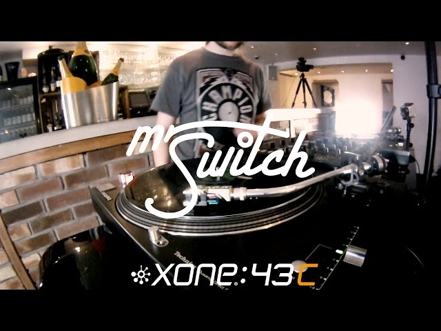 Mr Switch - World DJ Champion scratches with new Xone:43C Mixer