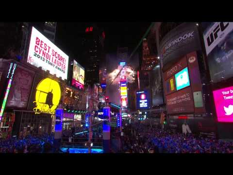 Times Square - Midnight Moment