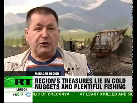 Magadan - Russia's gold mining region (видео)