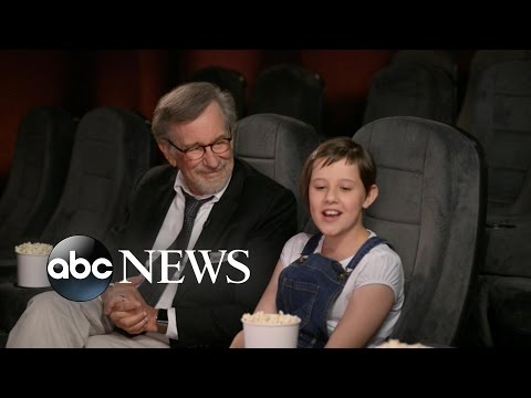 'The BFG': Steven Spielberg on Finding Ruby Barnhill