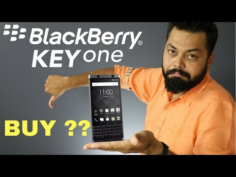 BlackBerry KEYONE - My Opinions | Not a REVIEW | in Hindi