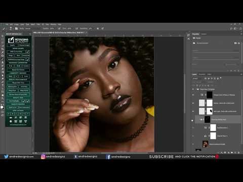 RETOUCH ACADEMY Panel in Photoshop
