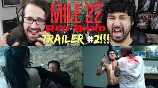 Download Video MILE 22 (Red Band) TRAILER #2 REACTION & REVIEW!!! MP3 3GP MP4