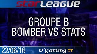 Bomber vs Stats - 2016 SSL S2 Challenge - Groupe B - Group Stage #2