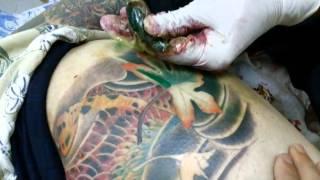 งานฝีมือ Bamboo Tattoo ครั้งที่ 3