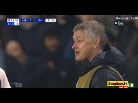 10 phút cuối nghẹt thở trận PSG vs M.U - lượt về vòng 1/8 Cup C1 - Thời lượng: 12 phút.