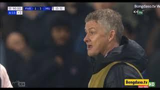 10 phút cuối nghẹt thở trận PSG vs M.U - lượt về vòng 1/8 Cup C1